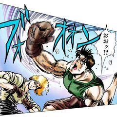 Dio dodges Jonathan's hits
