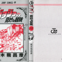 The cover of Volume 21 without the dust jacket
