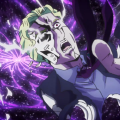 Kira's spirit being damned to the hellish fate that awaits him.
