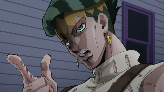 File:Rohan threatens Josuke.png