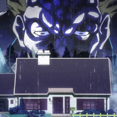 Angelo has complete control of the Higashikata residence.