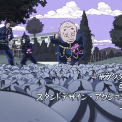 Shigechi featured in the second opening, <i><a href=