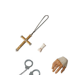 Hands, Crucifix, Handcuffs, <a href=