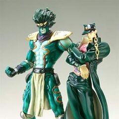 Star Platinum &amp; Jotaro's figures from  <a href=