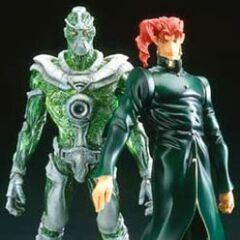 Kakyoin & Heirophant Green
