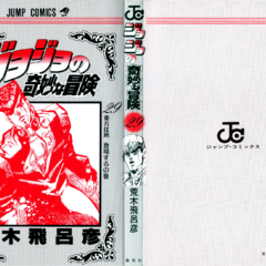 The cover of Volume 29 without the dust jacket