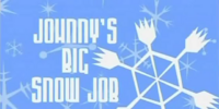 Johnny's Big Snow Job