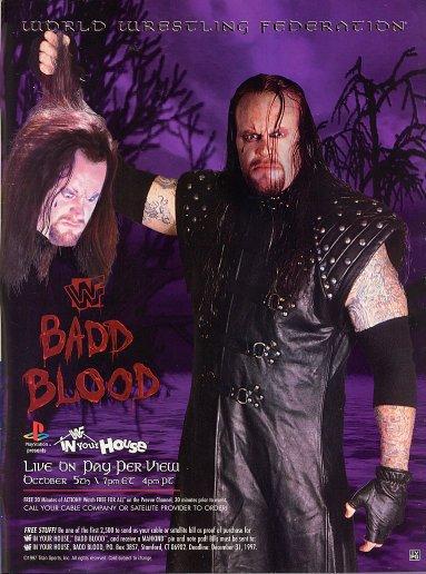 Badblood97 Undertaker 1996-1998