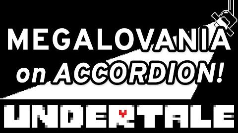 Megalovania (Undertale) -accordion cover-