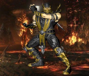 Scorpion In The Netherrealm