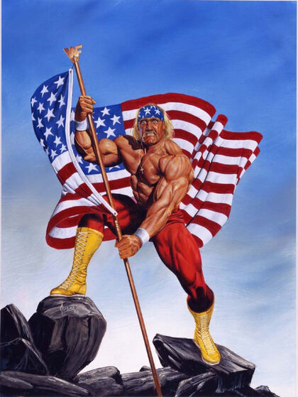 Hulk Hogan (Exaggerated)
