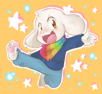 Storyshift asriel by thegreatrouge-d9ymxf2