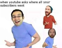 When Youtube Asks Where All Your Subscribers Went
