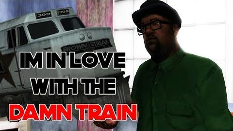 I'm In Love With The Damn Train-0