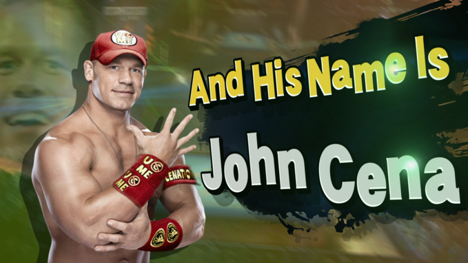 And his name is john cena super smash bros by gameonion-d97prtd