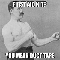 Overly Manly Man Duct Tape