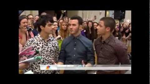 Jonas Brothers on Today Show 08.20