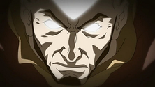Adult Aang in the Avatar State