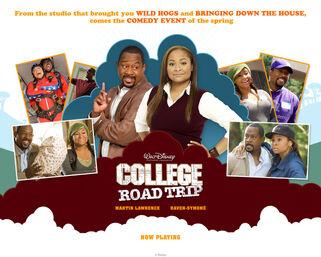 College road trip wall 01b
