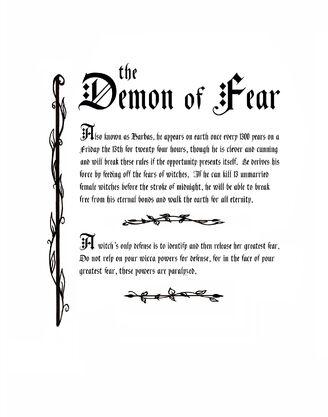 Demon of Fear, The (Season 8,correct font)
