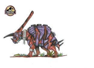 672px-Jurassic Park Torowuerhocerias by hellraptor
