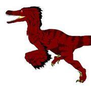 Crimson utahraptor? naaaaah
