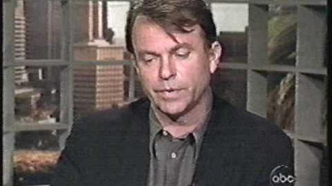 Good Morning America with Sam Neill on Jurassic Park - 1993!