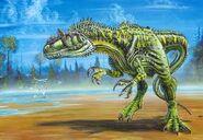 Spiky Allosaurus
