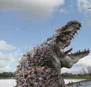 Mosasaur Muerta