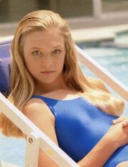 Lex at pool