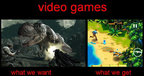 Want get video games