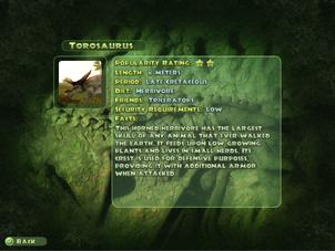 Torosaurus Dinopedia