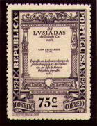 Portugal 1924 400th Birth Anniversary of Camões r