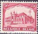 Belgium 1928 Anti Tuberculosis - Cathedrals