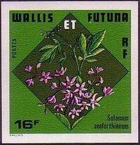 Wallis and Futuna 1978 Flowers e