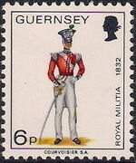 Guernsey 1974 Military Uniforms Definitive Issue k