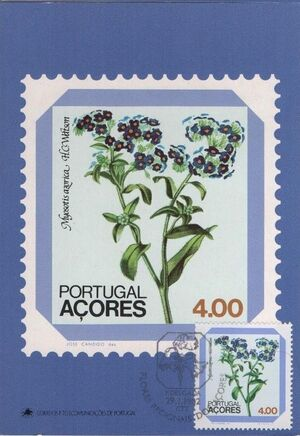 Azores 1982 Azores Flowers (2nd Issue) h