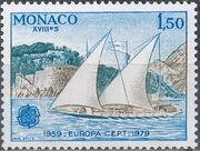 Monaco 1979 EUROPA - Communications b