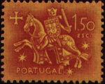 Portugal 1953 Definitives - Medieval Knight i