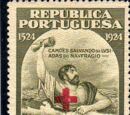 Portugal 1928 Red Cross - 400th Birth Anniversary of Camões