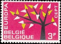Belgium 1962 Europa-CEPT a