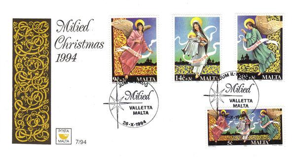 Malta 1994 Christmas g
