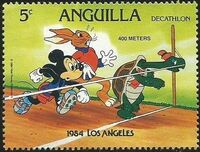 Anguilla 1984 Olympic Games Los Angeles e