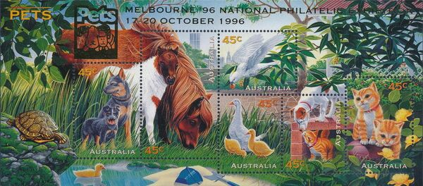 Australia 1996 Pets i
