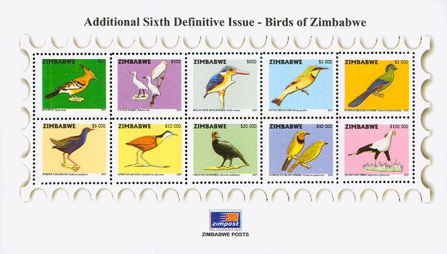 Zimbabwe 2007 Birds from Zimbabwe k