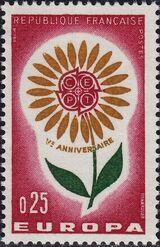 France 1964 Europa a