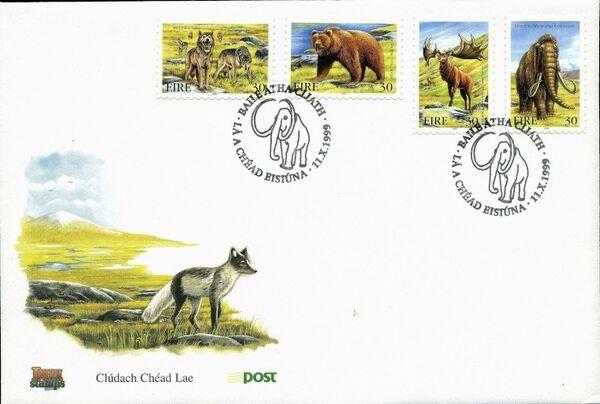 Ireland 1999 Extinct Irish Animals m