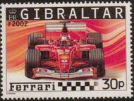 Gibraltar 2004 Ferrari Formula 1 Cars d