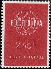Belgium 1959 Europa a