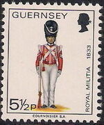 Guernsey 1974 Military Uniforms Definitive Issue i